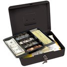 Safes: Master Lock Model No. 7111D  Keyed Locking Cash Box with 6 Compartment Tray