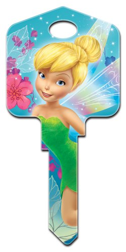 Key Blanks: Key Blank D47 - Disney's Fairies- Weiser