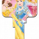 Key Blanks: Key Blank D49 - Disney's Princesses 3- Schlage