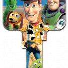 Key Blanks: Key Blank D63 - Disney's Buzz & Woody- Weiser