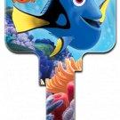 Key Blanks: D10 Licensed Disney Pixar Finding Dori key blank - Kwikset
