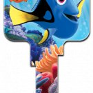 Key Blanks: D10 Licensed Disney's Pixar Finding Dori key blank - Weiser