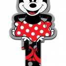 Key Blanks: Key Blank D104 - Disney's Minnie Mouse Shape- Weiser