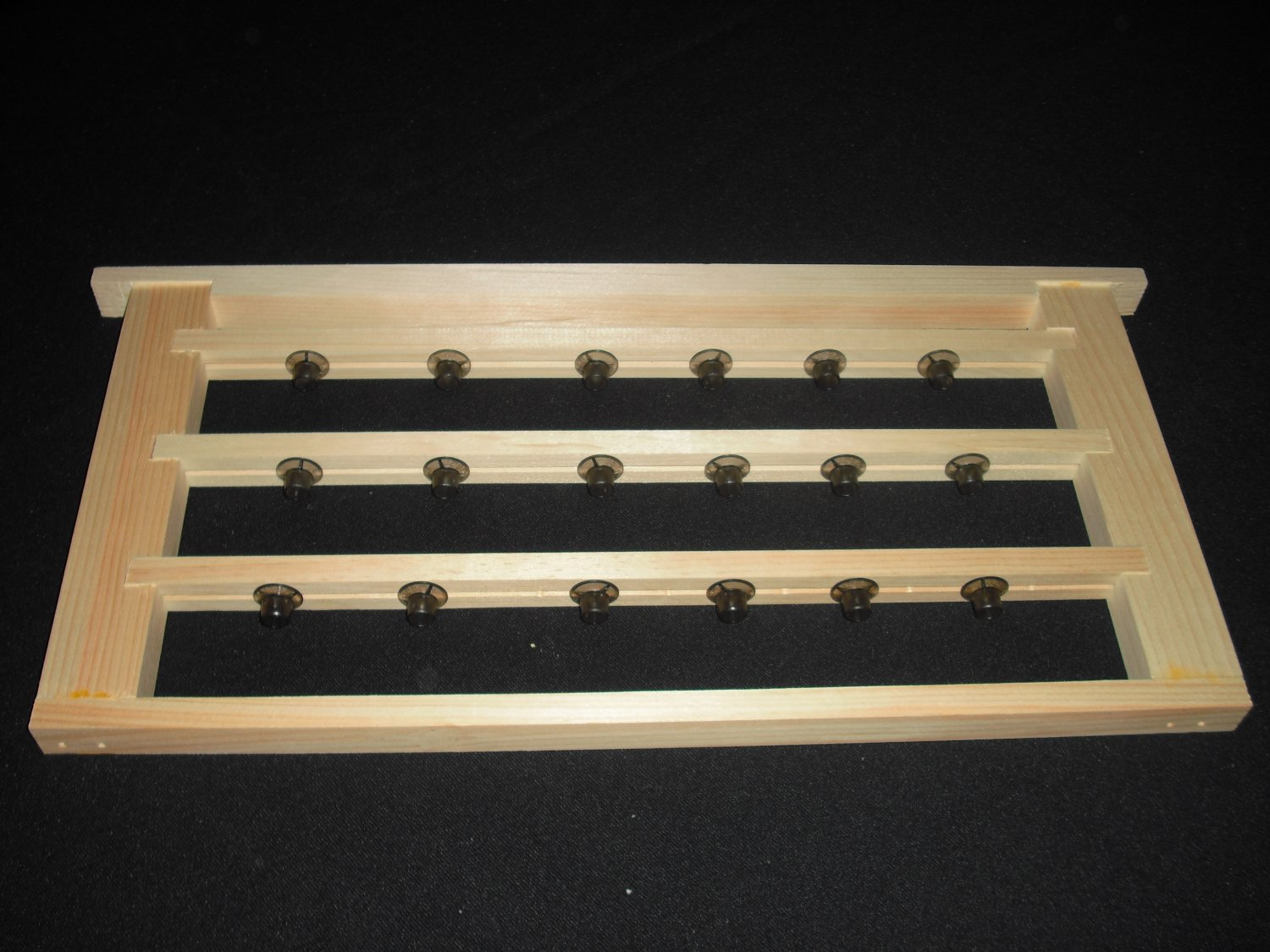 beekeeping bee hive QUEEN CELL BAR FRAME W/ CUPS