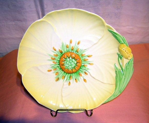 Carlton ware buttercup plate #14827 from 1936-38 mint hc1156