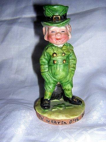 Irish man figurine wearin o the green Irish Toast Beth Barton for George Good hc1157