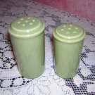 1970s Avocado salt pepper shakers Danish modern vintage hc1168