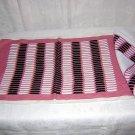 Set 4 each linen placemats napkins Art Deco modern art motif vintage linens hc1256