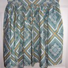 Cotton hostess apron tightly gathered waist vintage hc1410