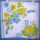 3 Vera dinner napkins splashy fruit vegetable  ladybug unused vintage linens hc1530
