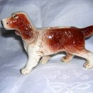 Spaniel dog tiny ceramic planter made in Japan vintage hc1636