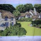 Irish linen towel Selworthy Green National Trust Parry hc1771