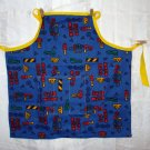 Boys Work sturdy apron for young helpers excellent vintage hc1937