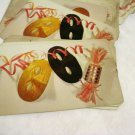 Party theme 52 card deck of playing cards plastic coated masks streamers crackers opened hc1961
