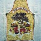 Milk and Honey cotton apron Dodo Designs England vintage hc2070