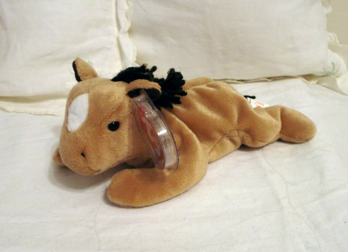 Derby the horse Ty Beanie Baby born September 1995 retired  hc2311