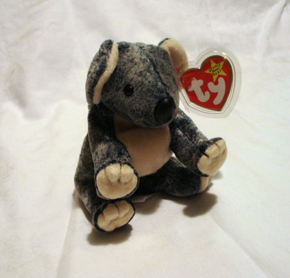 Eucalyptus koala bear 1999 Ty Beanie Baby toy retired mint hc2457