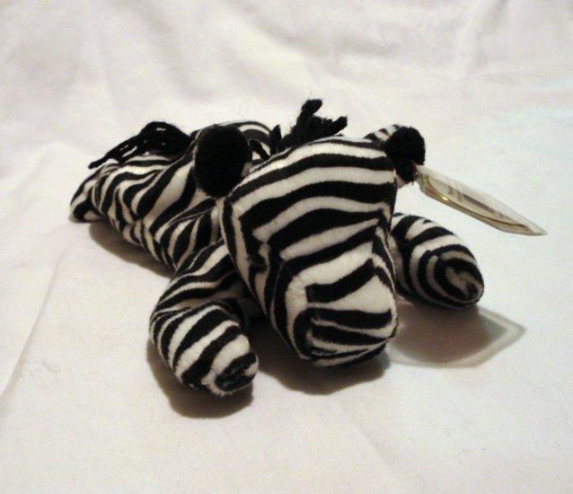 Ziggy the zebra 1995 Ty Beanie Baby toy retired mint hc2465
