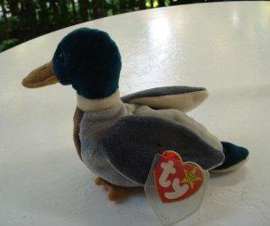 df0889009d9 Jake the drake mallard duck Ty Beanie Baby toy retired mint hc2521
