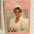 1983 Simplicity Bridal Sewing and Crafts how to magazine hc2684