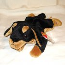 Doby the doberman dog 1996 Ty Beanie Baby toy retired mint hc2707
