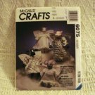 McCall's Crafts pattern 6075 Heavenly Beings cat mouse cow pig angels uncut vintage hc2754