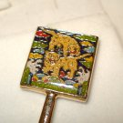Year of the Tiger gold plated decorative fork unused hc2763