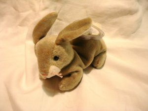 Nibbly the bunnie Ty Beanie Baby toy 1998 retired mint hc2862
