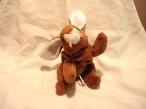 Ears the rabbit Ty Beanie Baby toy 1995 retired mint hc2869