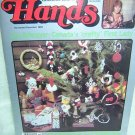 HANDS a Christmas craft book 1982 Can. Crafts Magazine hc2891