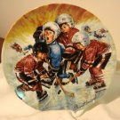 The Pileup Stewart Sherwood pee-wee hockey ltd ed plate 1990 signed numbered mint vintage hc2919