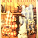 Bear Profiles craft leaflet Leisure Arts Susan Schumelzenbach Carson vintage hc2947