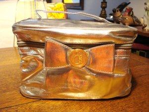 Elizabeth Grant silver metalic toiletries bag travel size unused new hc2952