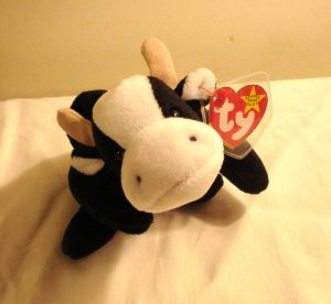 Daisy the Holstein cow 1994 Ty Beanie Baby toy retired mint hc2964