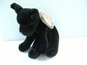Luke the black lab puppy 1998 Ty Beanie Baby toy retired mint hc2974