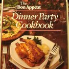 The Bon Appetit Dinner Party Cookbook 1983 HB DJ 1st ed near fine  hc3239