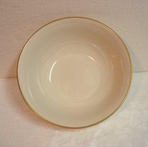Avon President's Club 1980 members Lenox china bowl cream with gold hc3261