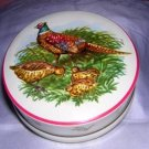 Riley's Toffee England antique collector tin pheasants hc1183