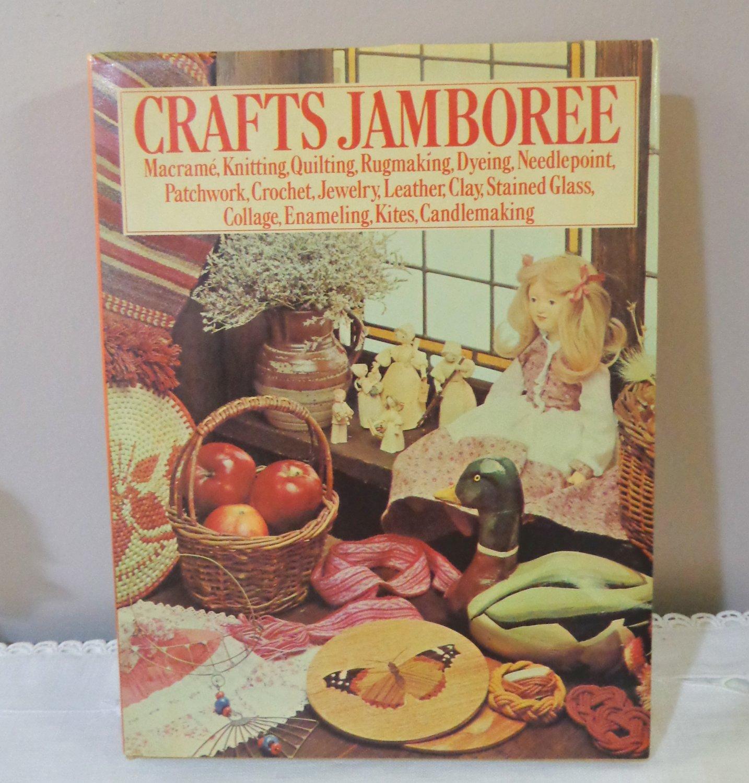 Crafts Jamboree Encyclopedia Marshall Cavendish Ltd vintage hc3314