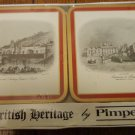 Pimpernel British Heritage drink coasters Scenes of Bath boxed set of 6 mint vintage hc3333