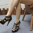 Studded Platform Heels