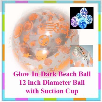 Beach Ball Glow-in-the-Dark + Free Gift