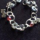 """""""Baby Love"""" Little Girls Hardware Bracelet"""