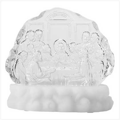Lighted Last Supper