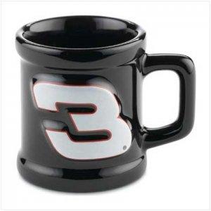 Dale Earnhardt Sculpted Mini-Mug Shotglass
