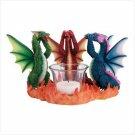 No Evil Dragons Candleholder