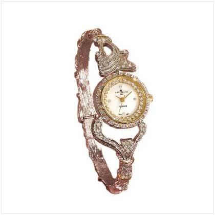 Two-Tone Bangle Watch
