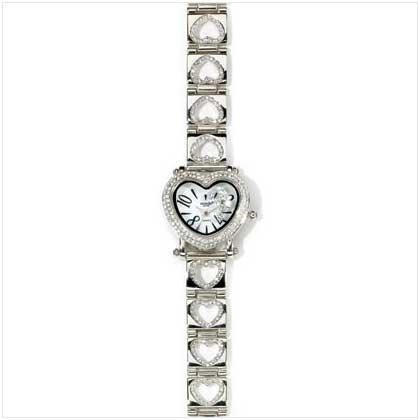 Diamond's Heart Watch