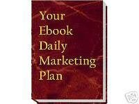 Your Ebook Daily Marketing Plan