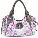 Betty Boop Flower design fashion satchel
